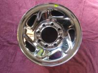 One brand new Dodge 2500 wheel.