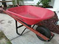 Wheel Barrel very good condition Light weight Garage