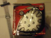 WHEEL COVERS Weather Handler SIZE: 15? Diameters 4pc