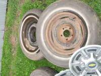 Selling 5 wheel covers/hubcaps from a 1980 Chevrolet