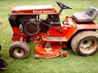 Wheel Horse 310-8 garden tractor 38in cut 10hp Kohler