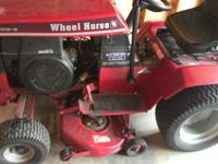 Recently purchased this Wheel Horse lawn tractor used