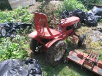 I have a  Wheel Horse 654 complete with deck for sale.