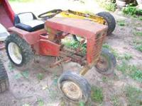 655 WHEEL HORSE TRACTOR NO MOTOR NO EMAILS PLEASE CALL