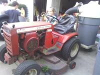 Wheel Horse Garden Tractor C-121. Kohler Engine  K301AS
