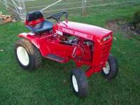 1974 wheel horse c120 special has 12 hp tecumseh engine