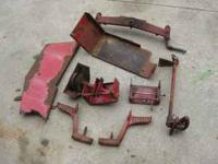 Wheel Horse Parts from a 312-8 (300 series; 12 hp