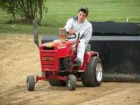 I have a completly modified pulling tractor that can
