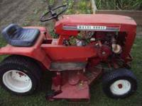 i have a 1970 wheel horse, 800 series, in excellent