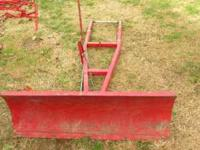 42 inch snow plow with rear bracket. asking $150 call