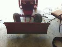 I have a wheel horse snow plow grate shape work grate