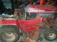 18 Horse Wheel Horse Tractor - $650.00 - 1600 hours -