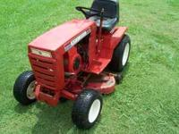 1981 Wheel Horse tractor/riding mower. $26.00 IF YOU