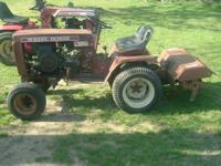 I am selling a couple wheel horse tractors. would sell