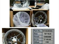 Brand brand-new set of 4 Wheel Replicas V1133 Chevrolet