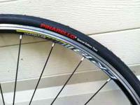 brand new tires and tubes with 11-23 rear cassette good