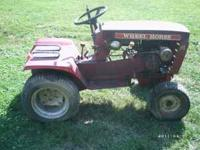 I have for sale a Wheelhorse B 80 Tractor 3 speed.
