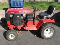 FOR SALE ONE OWNER WHEEL HORSE 312-8 TRACTOR,RUNS GREAT