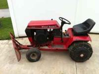 FOR SALE WHEEL HORSE 3-12-8 ..HIGH AND LOW SPEED TRANS