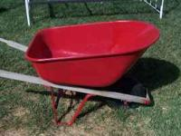 I have a Red Wheelbarrow. It is in good condition. It