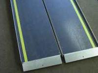 We have a set of ramps that could be used for
