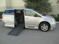 Brand new 2013 Honda Odyssey Touring Wheelchair