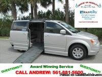 2010 Chrysler Town & Country Touring Handicap Van ?