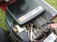 HAS 16 HP KOHLER TWIN POWER PLUS ENGINE, HAS 4 FT