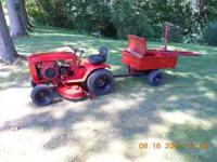 1972 wheelhorse garden tractor-raider 12 model-6