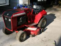 Wheelhorse B165 with 42'' rear discharge deck. 16 horse
