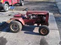 Wheelhorse b 80 8 speed 8 horse kohler runs great no