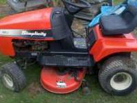"Great lawnmowers! Wheelhorse Hydro has a 48"" cut."