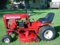 1968 Wheel horse lawn ranger with 6 hp pull start and