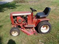 1975 wheelhorse tractor 36 in cut deck low range gears