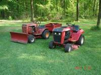 I have 2 middle 70's Wheelhorse tractors forsale. One
