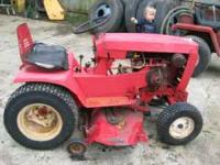 wheelhorse 1 garden tractor, 42in cut, kohler 10hp.