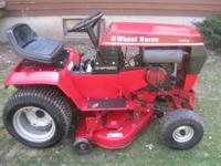 I have a very nice heavy duty Wheelhorse 310-Garden