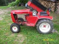 Im selling my wheelhorse gt-14, the engine went bad so