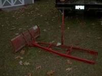 Toro/Wheelhorse 48 inch dozer/snow blade. Fits Toro and