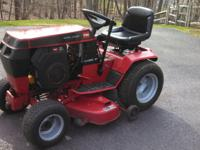 WheelHorse tractor 15hp Kohler OHV engine with 205
