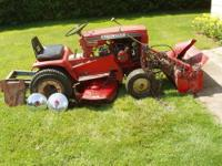 FOR SALE, NO PARTIAL, ALL OR NONE ? Wheel Horse Lawn