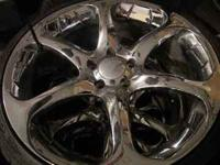 "I have BMW wheels 350 the chrome 20"" are 1000 Call Matt"