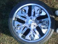 Sweet wheels that came off of a chrysler 300. less than