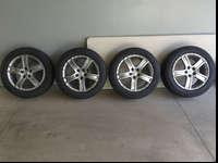 "For Sale a set of Rial 17"" wheels installed with"