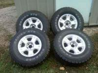Factory take off wheels, off of 2002 Ford Explorer