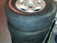 4 wheel wheels with 6 holes r16 agency, very nice ( 4