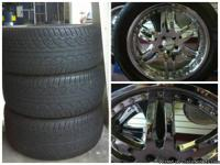 Mercedes ML-CLASS Wheels and Tires - $600 These really