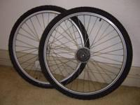 Mountain Bike Wheels. Very Good Condition. Just bought