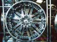 "22"" Dropstar DS04 chrome wheels for sale(used). Bolt"