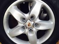 Wheels and tires for porche cayenne  the tires 95% And